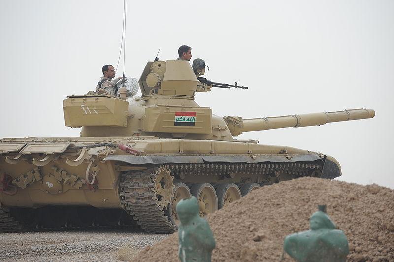 نیروی نظامی عراق-نیروی زرهی